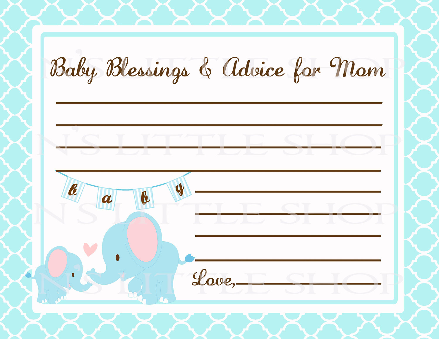 Editable Free Printable Baby Registry Cards To Baby Shower Welcome - Free Printable Baby Cards Templates