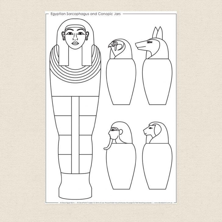 Free Printable Sarcophagus
