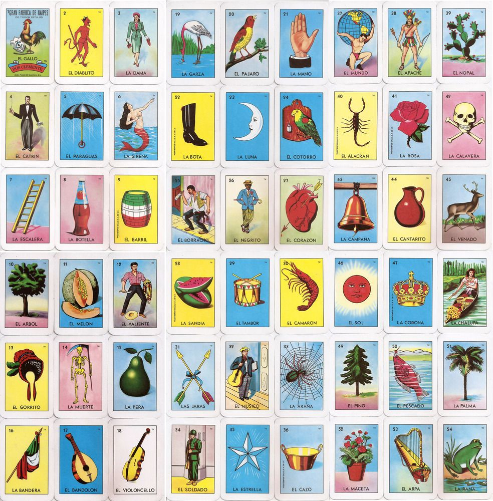 photograph regarding Free Printable Loteria Cards titled El Corazon Loteria Card Residence Makeover Pinterest