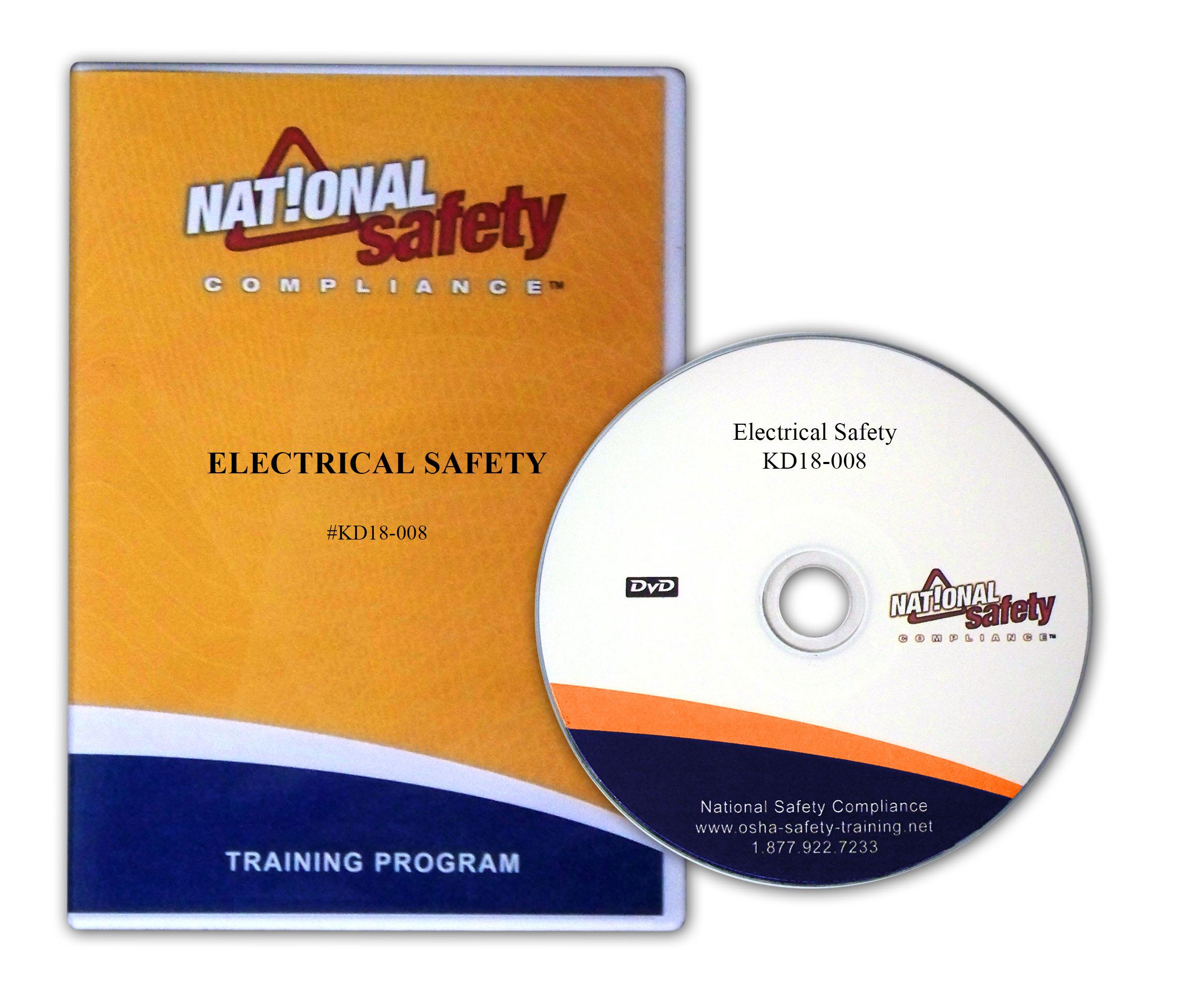 Electrical Safety Training Video Kit   Osha Safety Training Videos - Free Printable Osha Posters