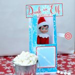 Elf On The Shelf Dunk Tank | This Mama Loves   Elf On The Shelf Kissing Booth Free Printable