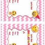 Emoji Birthday Invitations | Birthday Printable   Free Printable Emoji B Day Invites