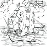 Engage Younger Kids With Columbus Day With Printable Coloring Pages   Free Printable Christopher Columbus Coloring Pages