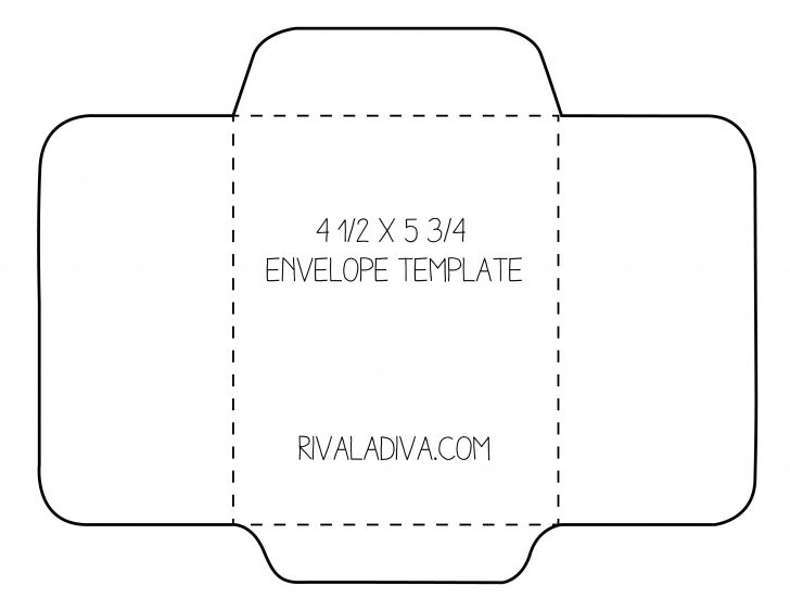 Free Printable Envelope Size 10 Template