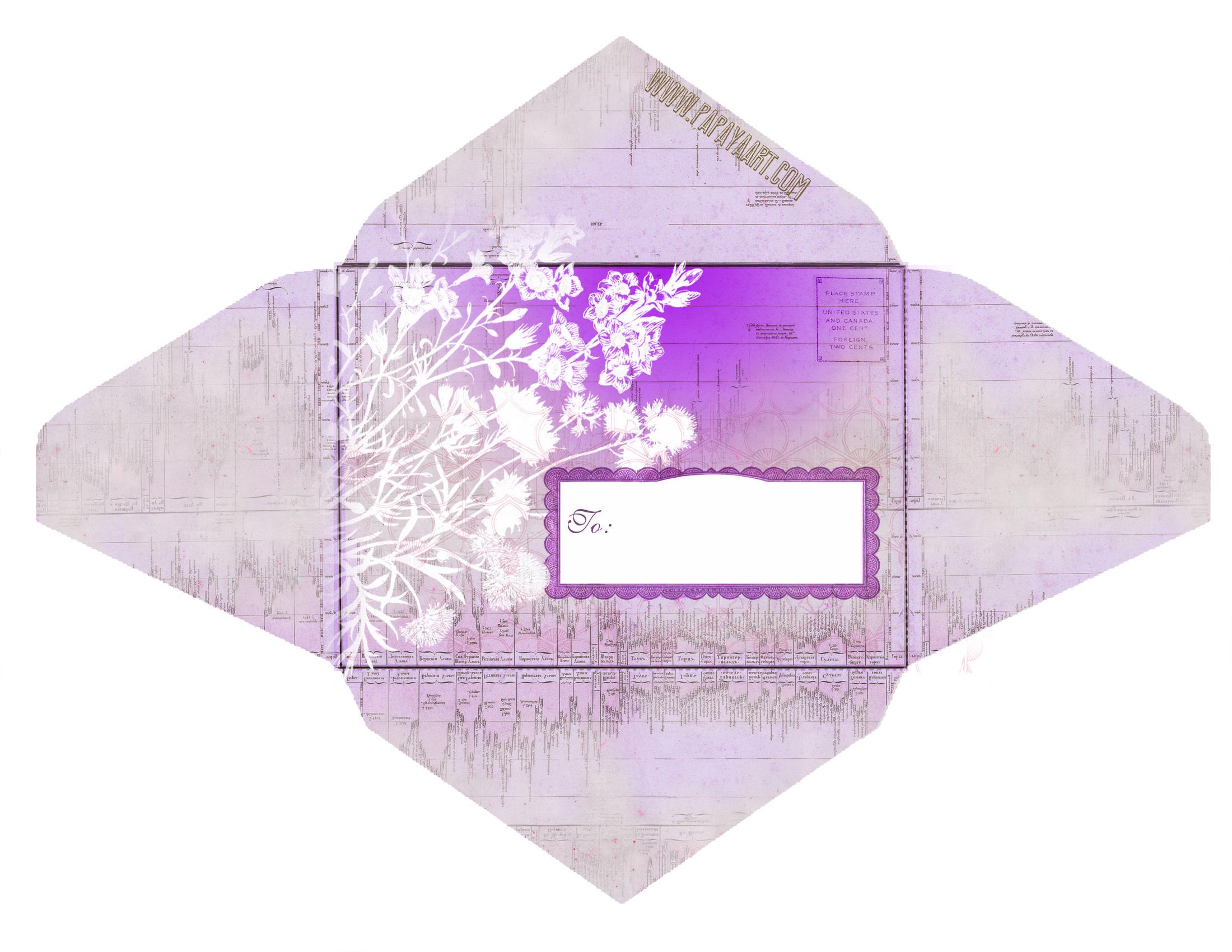 Épinglé Par Nina Sur Enveloppes | Pinterest | Envelope, Paper Et - Free Printable Envelopes