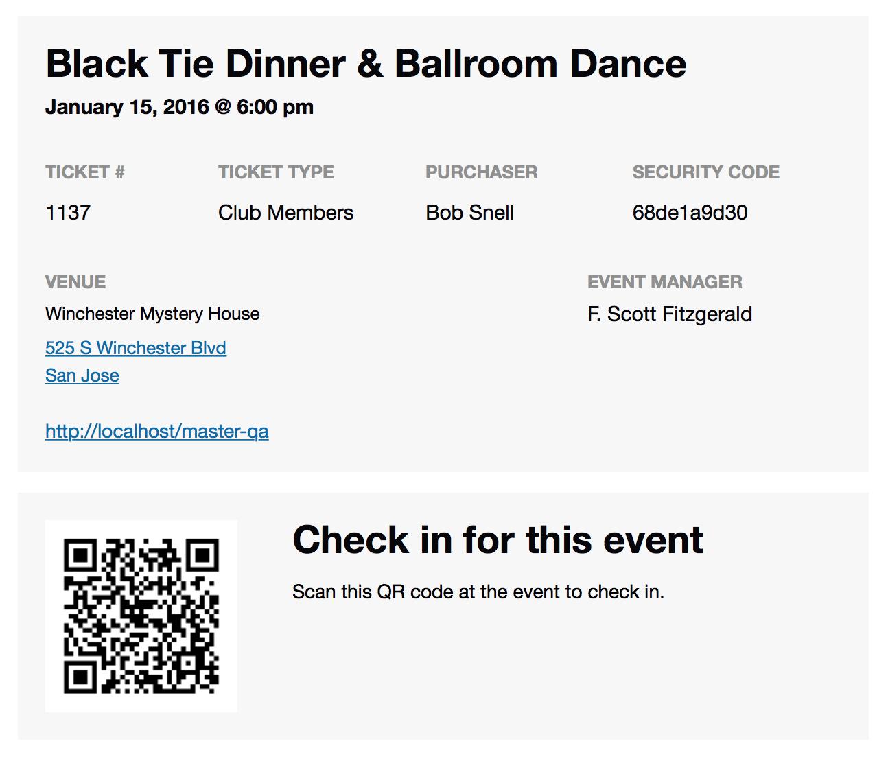 Events Calendar Tickets | The Events Calendar - Create Tickets Free Printable