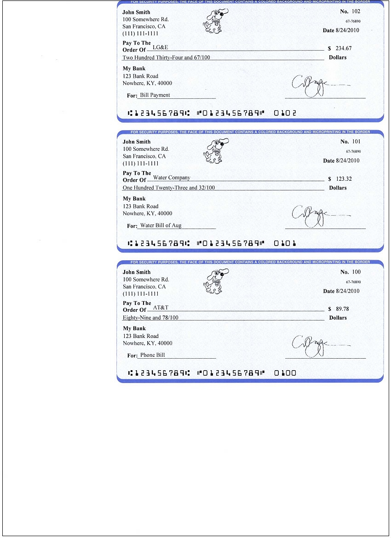 Ezcheckpersonal Makes It Easy To Print Pocket-Sized Personal Check - Free Printable Checks