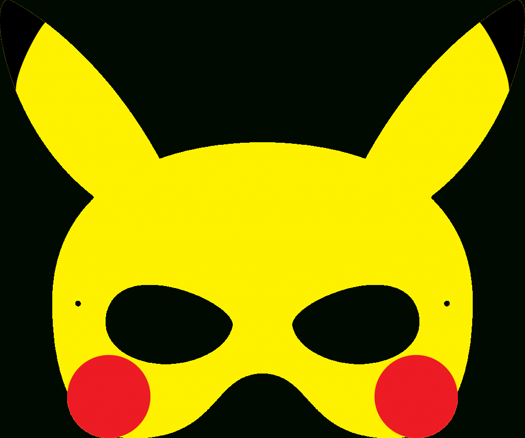 Fabiana Pinke (Fabianapinke) On Pinterest - Free Printable Pokemon Masks