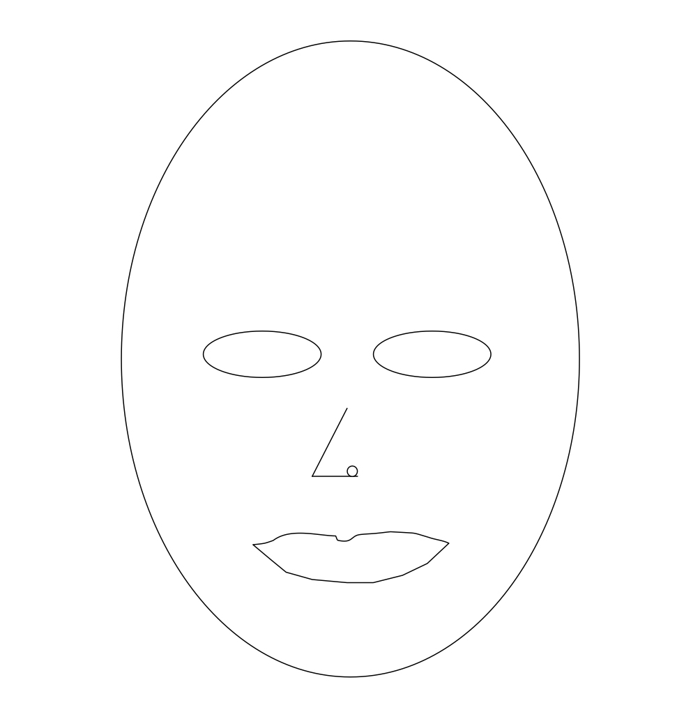 Face Mask Template To Print - Printable 360 Degree - Free Printable Face Masks
