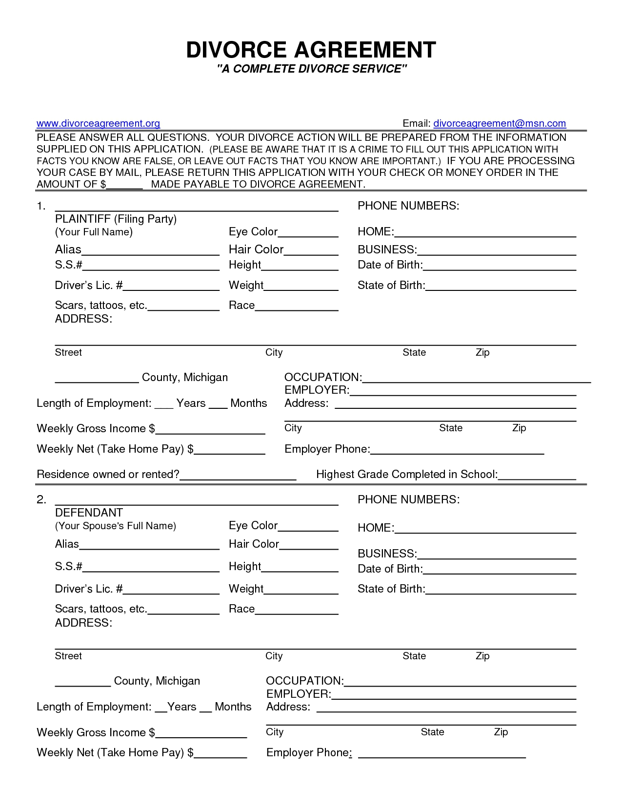 Fake Bill Of Sale Best Sc Divorce Forms Adoption Papers Ins  Free - Free Printable Divorce Papers For Louisiana