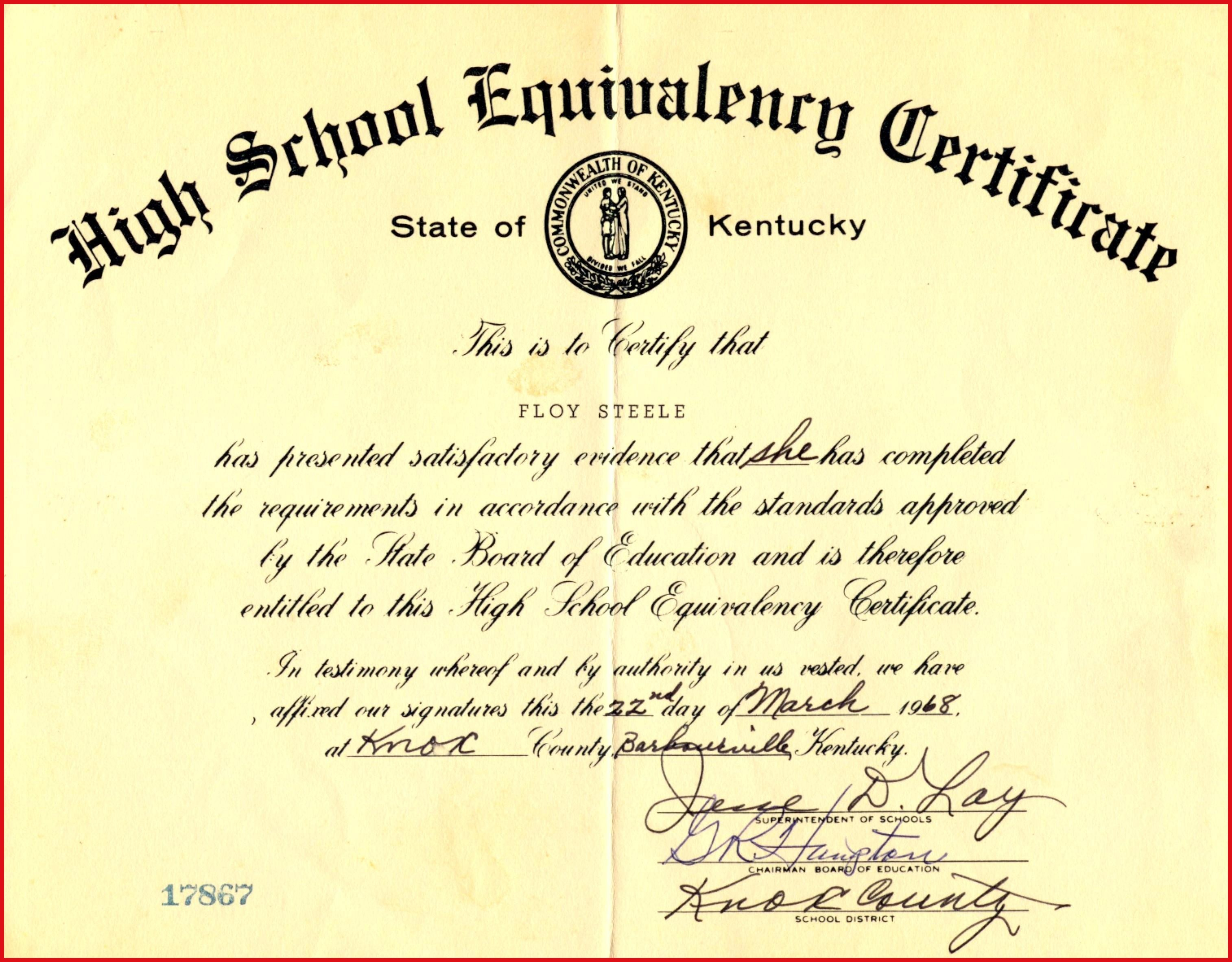Fake Ged Certificate For Free   Katieroseintimates - Printable Fake Ged Certificate For Free