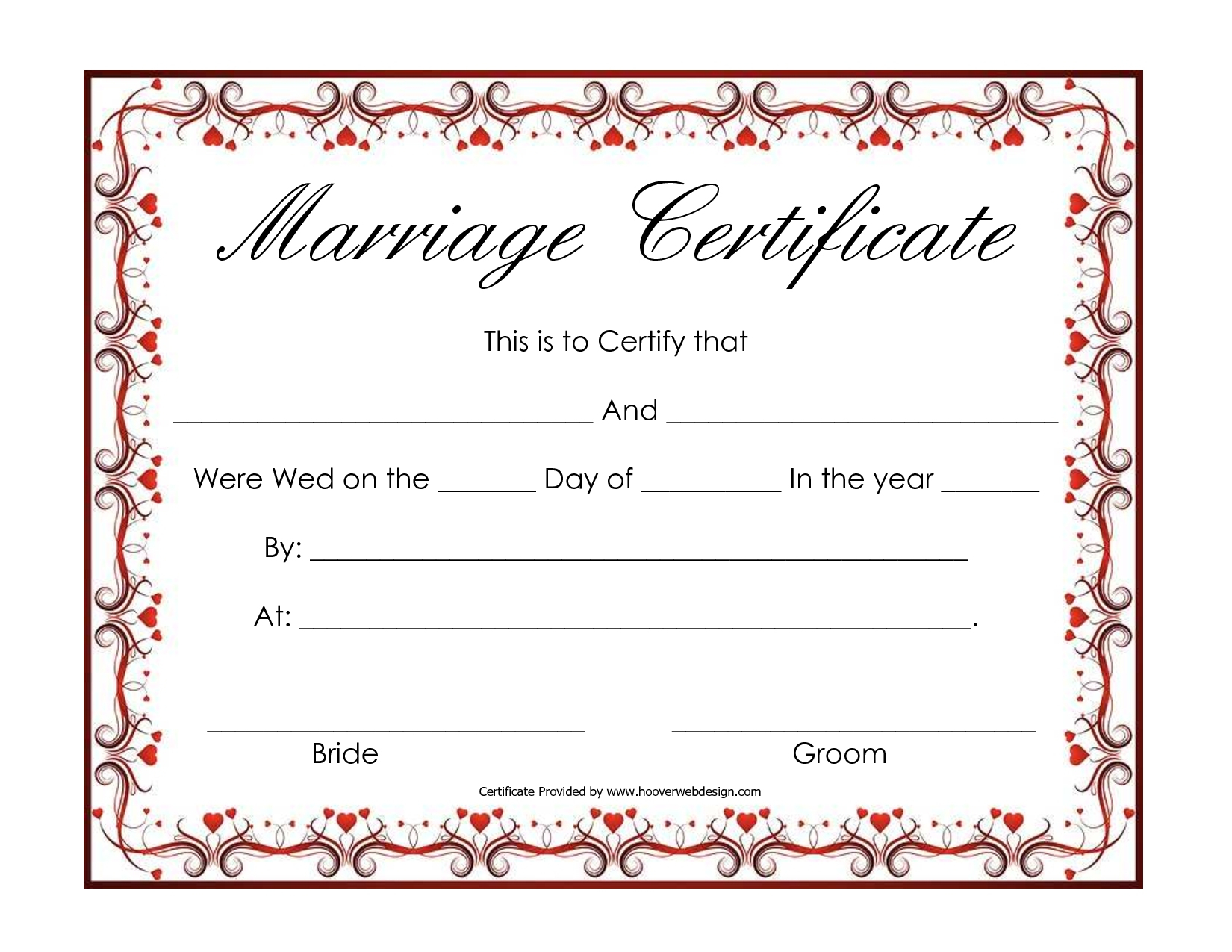 Fake Marriage Certificate Advanced Free Blank Marriage Certificates - Fake Marriage Certificate Printable Free