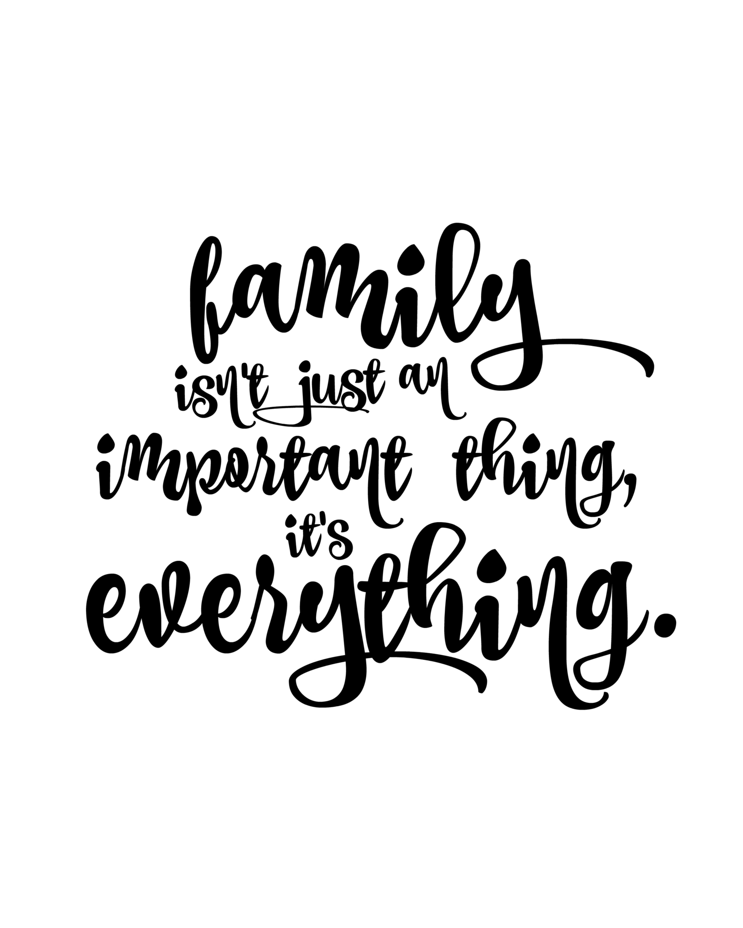 Family First | Quotes | Pinterest | Family Quotes, Home Quotes And - Free Printable Quotes And Sayings