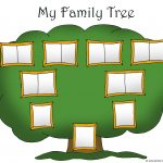 Family Tree Template For Kids: Printable Genealogy Charts   Free Printable Family Tree Template 4 Generations