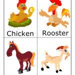 Farm Animal Flashcards | For The Classroom   Free Printable Farm Animal Flash Cards