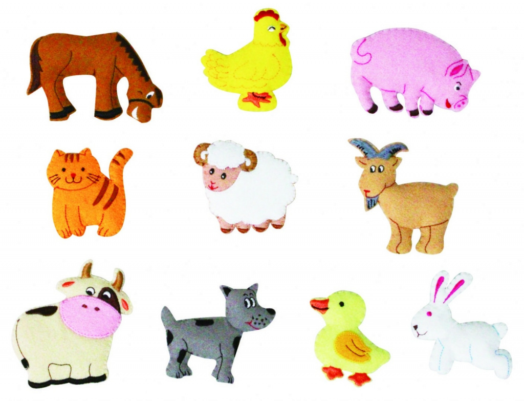 picture about Free Printable Farm Animal Cutouts named Farm Pets Lower Outs - Sort Of Letters In just Absolutely free Printable