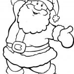Father Christmas Colouring Pages To Print | Wood Burning | Christmas   Santa Coloring Pages Printable Free