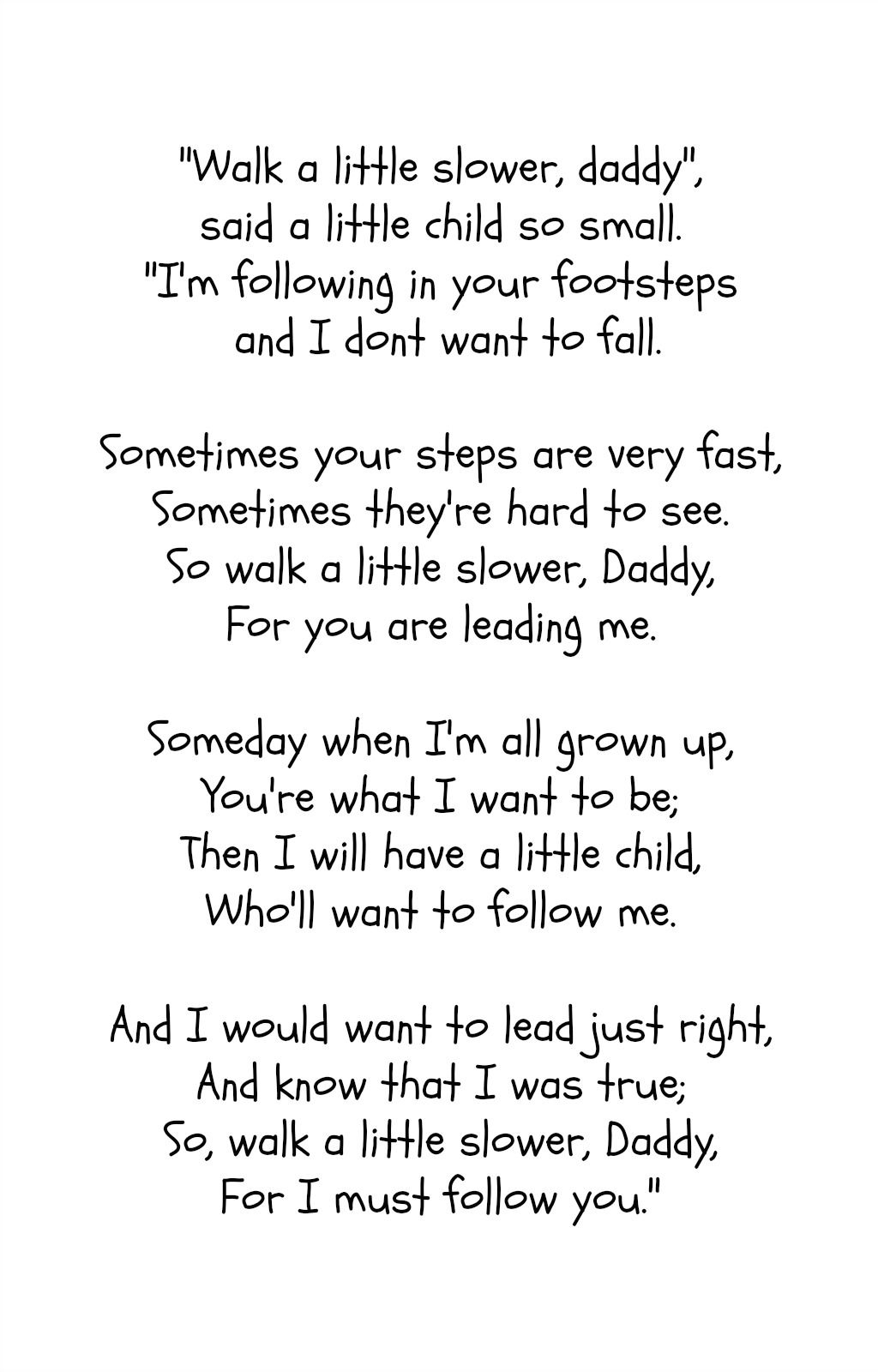 Father's Day Poem- Free Printable   Interesting   Pinterest - Free Printable Fathers Day Poems For Preschoolers