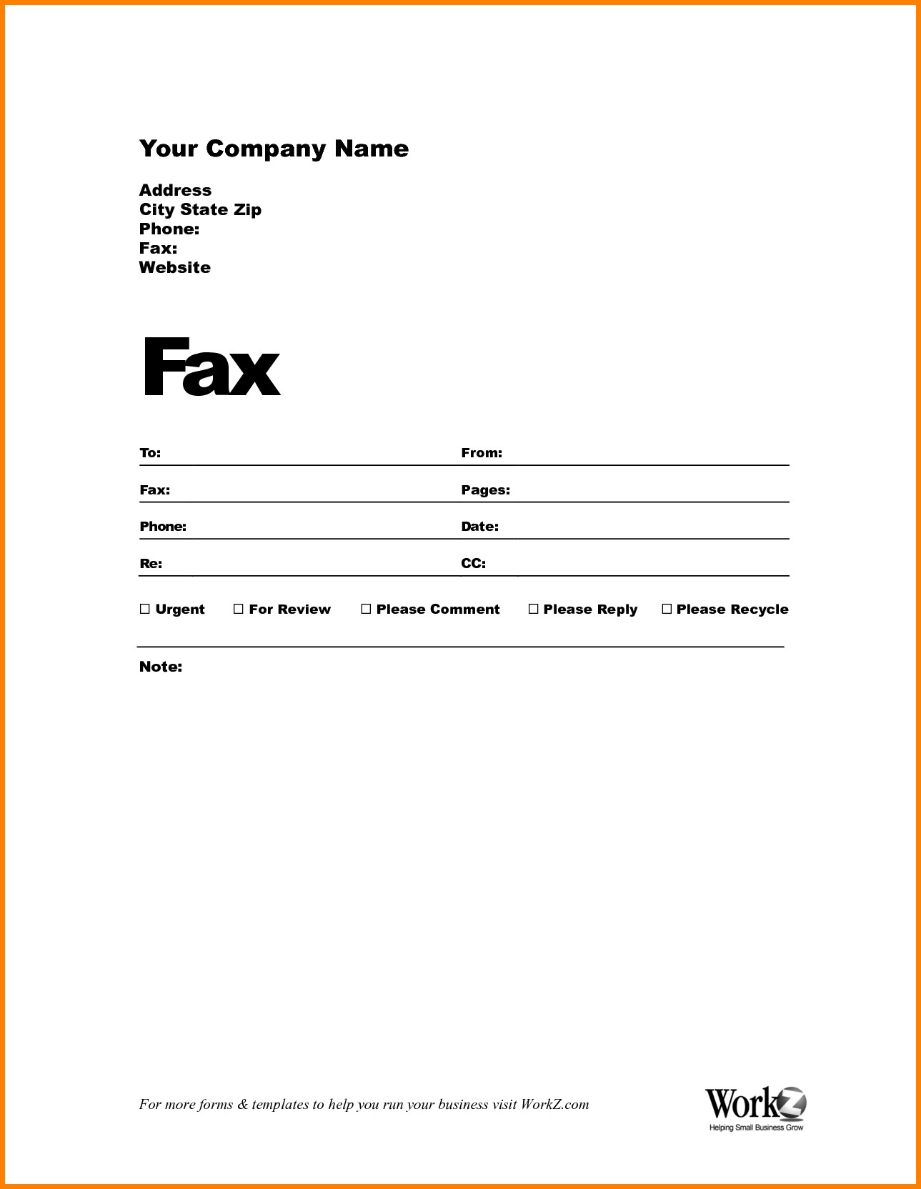 Fax Cover Sheet Template Word Confidential Fax Cover Sheet Free Word - Free Printable Fax Cover Sheet Pdf