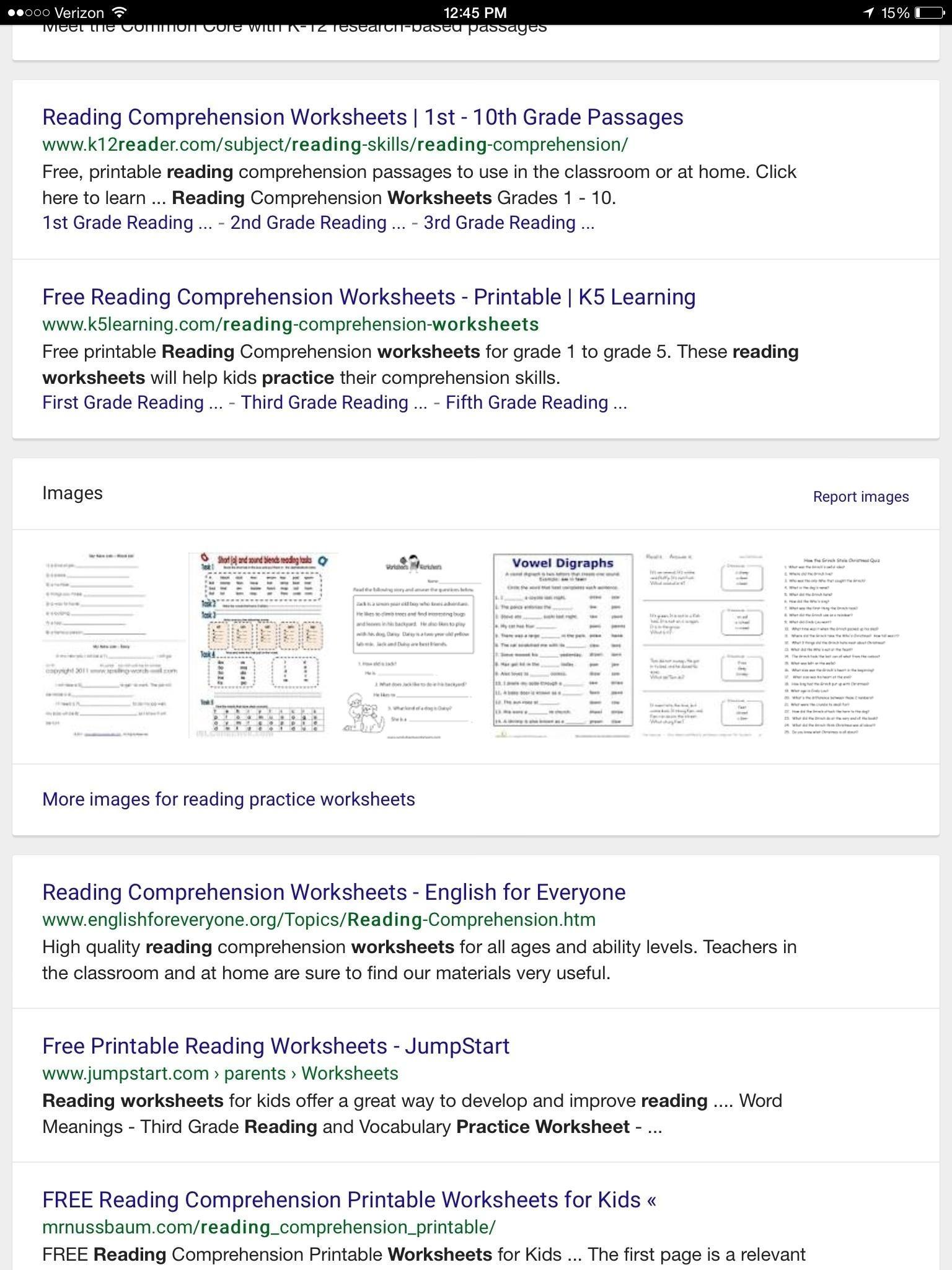 Fifth Grade Reading Comprehension Worksheets To Print - Math - Free Printable Worksheets Reading Comprehension 5Th Grade