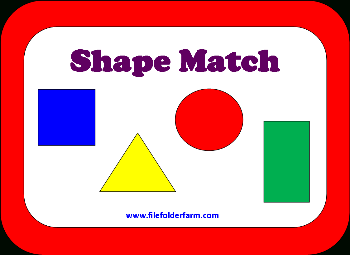 File Folder Farm - Huge Collection Of Free Printable Pdf's To Make - Free Printable Preschool Folder Games