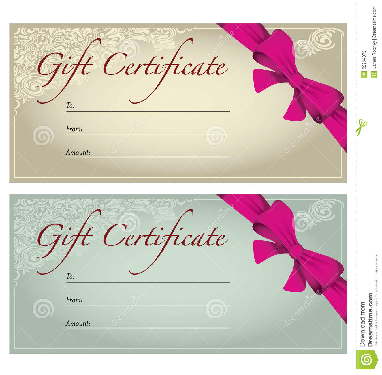 Fill In Gift Certificate Template Professional Christmas Free - Free Printable Photography Gift Certificate Template
