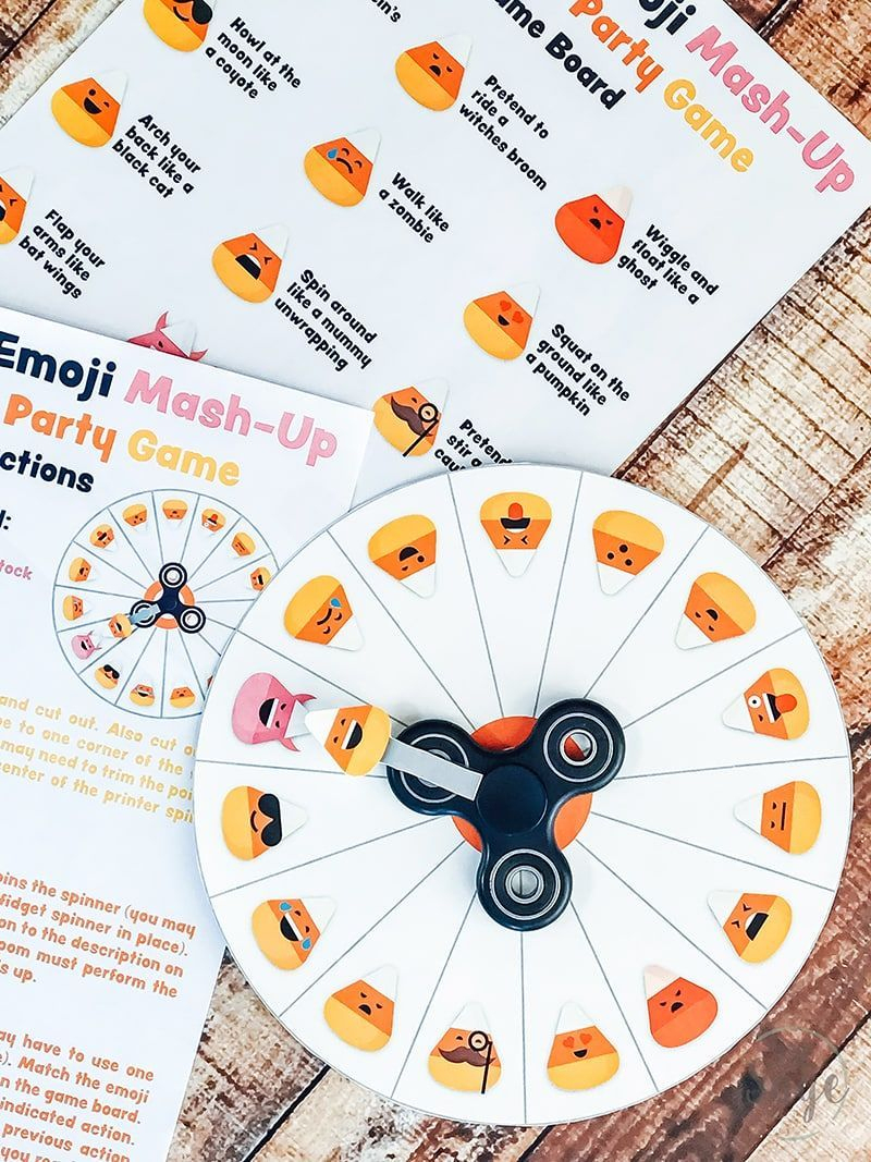 Fill This Free Printable Halloween Party Game Gets Kids Moving & Is - Free Printable Halloween Party Games