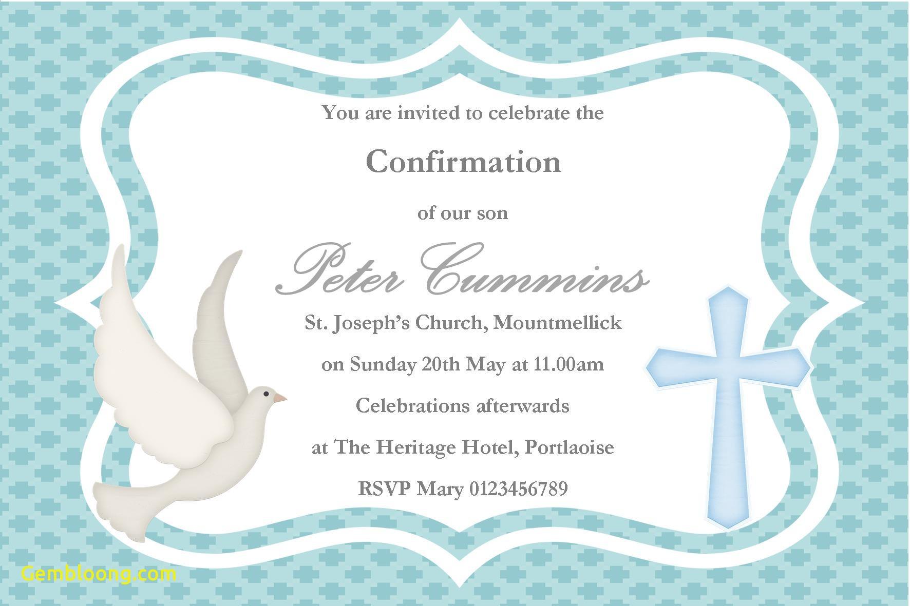 First Communion Invitation Templates Fresh Invitation Template Free - Free Printable First Communion Invitation Templates