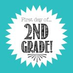 First Day Of 2Nd Grade Free Back To School Printable   Freebies2Deals   First Day Of Second Grade Free Printable Sign