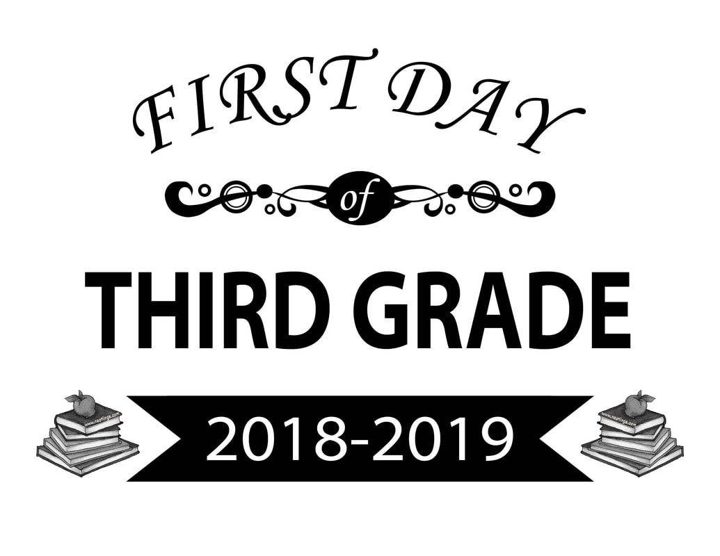 First Day Of 3Rd Grade 20182019 1St Day 3Rd Grade T - First Day Of 3Rd Grade Free Printable