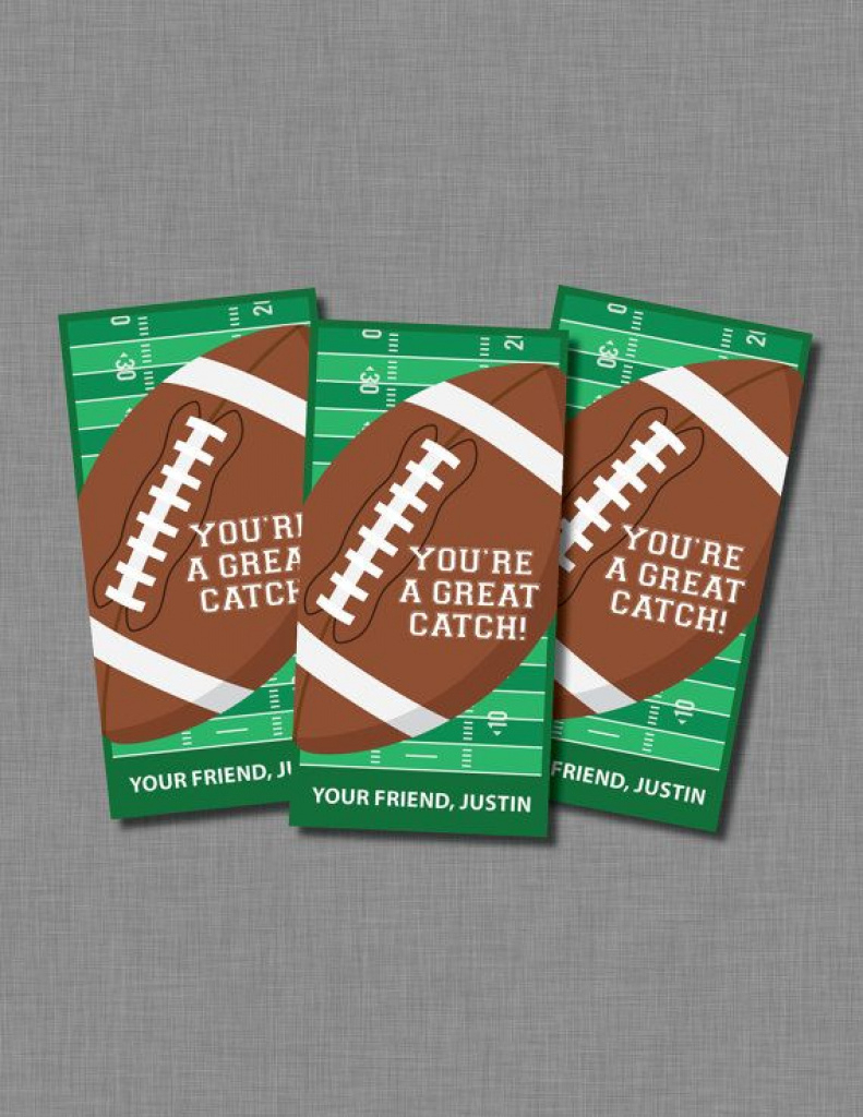 Football Valentines Cards Boy Printable | Cards | Pinterest | Boy - Free Printable Football Valentines Day Cards