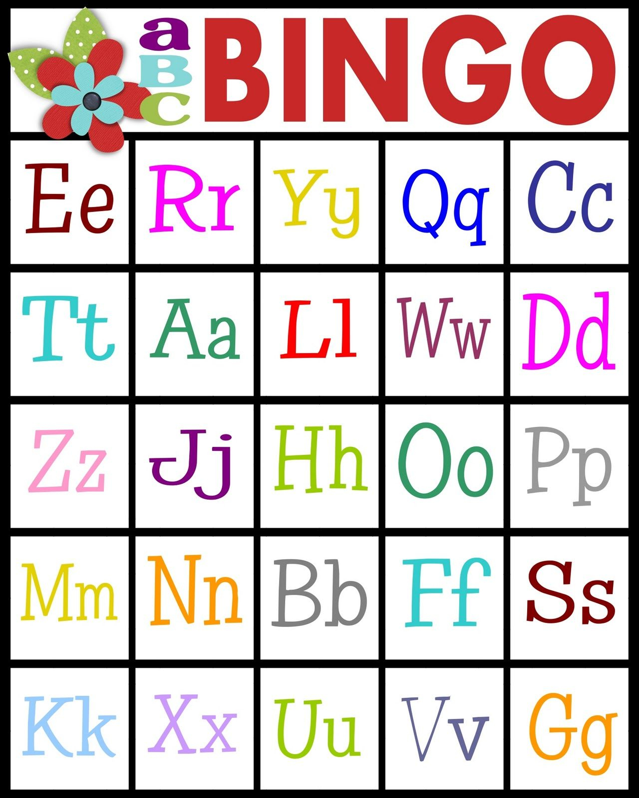For Teaching Letter Recognition Or Letter Sounds | Home School - Free Printable Alphabet Games