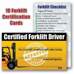Forklift Certification Gallery   Free Certificates For All   Free Printable Forklift Certification Cards