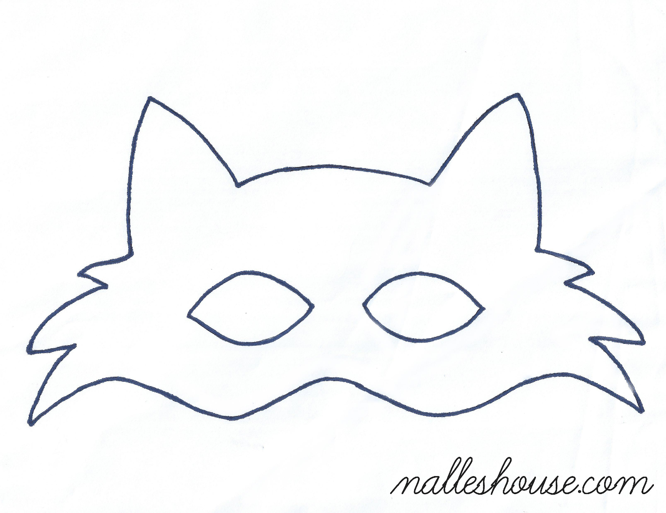 Fox Mask Template | Sewing Projects | Pinterest | Siluetas - Free Printable Fox Mask Template