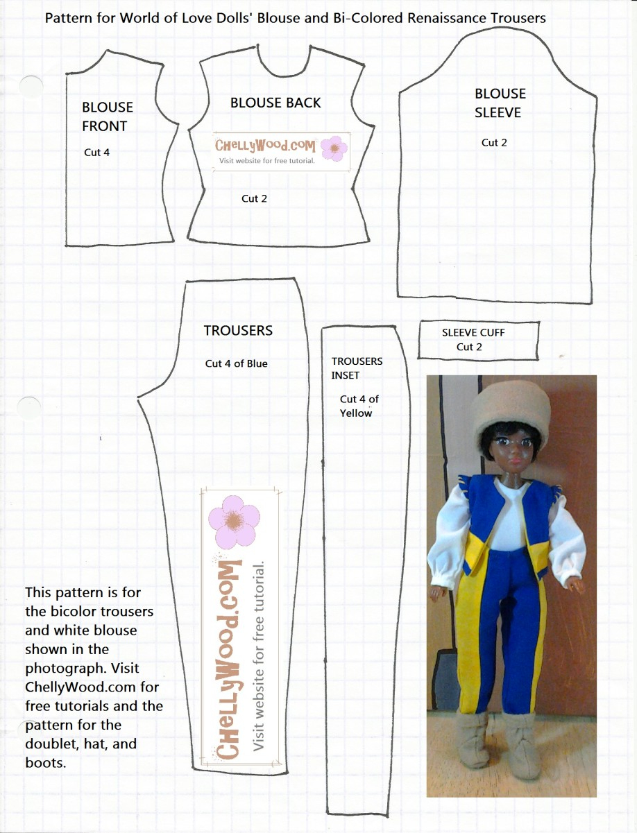 Free 18 Inch Doll Clothes Patterns Lovely Free Printable Sewing - Free Printable Doll Clothes Patterns For 18 Inch Dolls