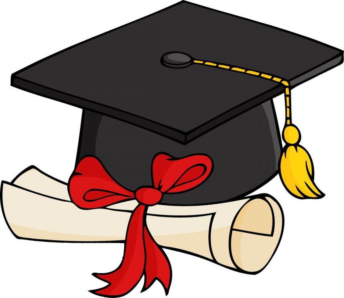 Free 2017 Graduation Clip Art Layout: Best Graduation Cap And Gown - Graduation Clip Art Free Printable