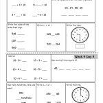 Free 2Nd Grade Daily Math Worksheets   Free Printable Activity Sheets For 2Nd Grade
