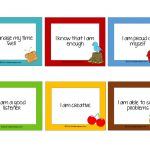 Free Affirmation Cards For Kids!   Kiddie Matters   Free Printable Positive Affirmation Cards