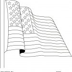 Free American Flag Coloring Pages   Free Printable American Flag Coloring Page