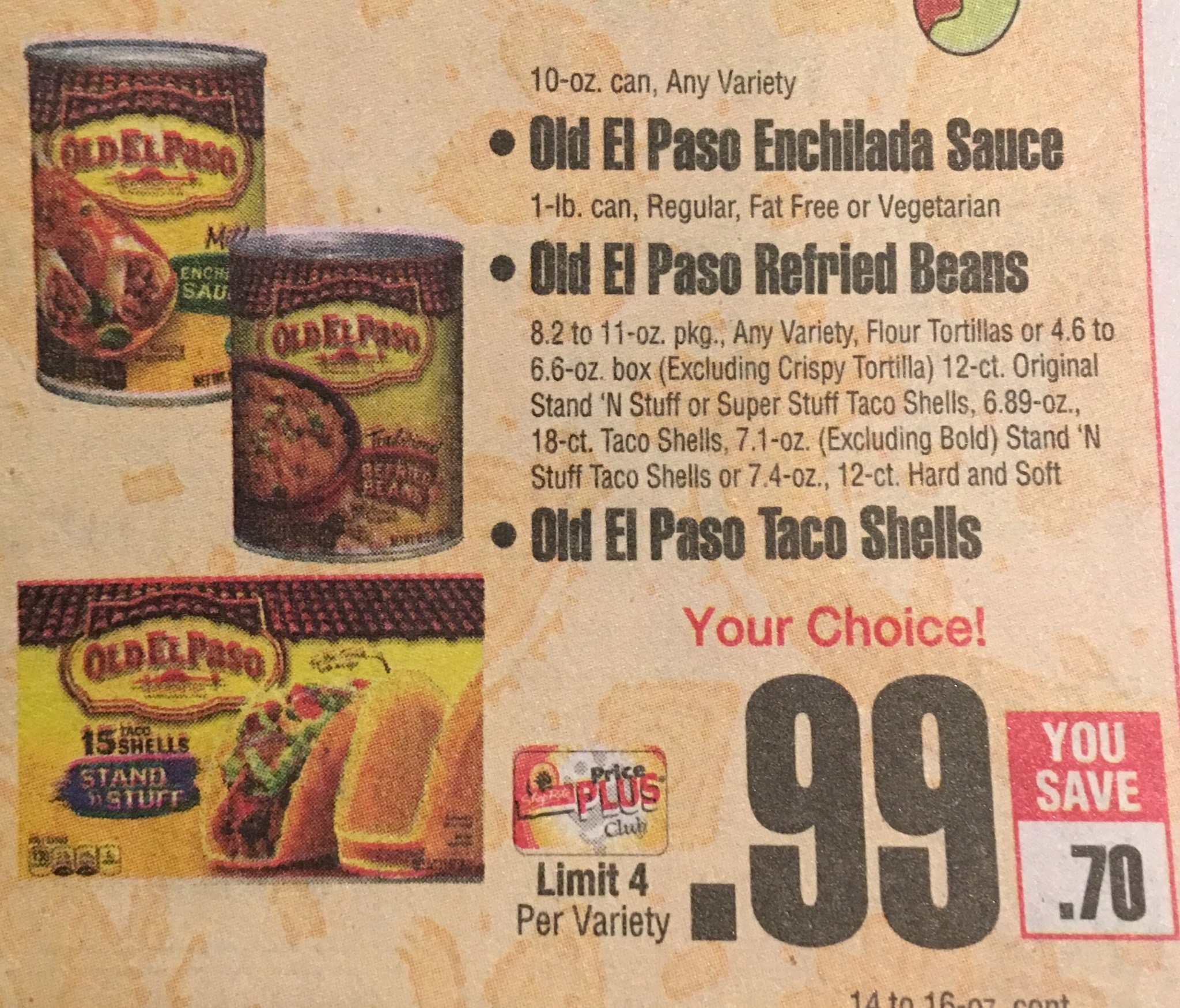 Free And Cheap Old El Paso Products Starting 1/21/18 - Free Printable Old El Paso Coupons