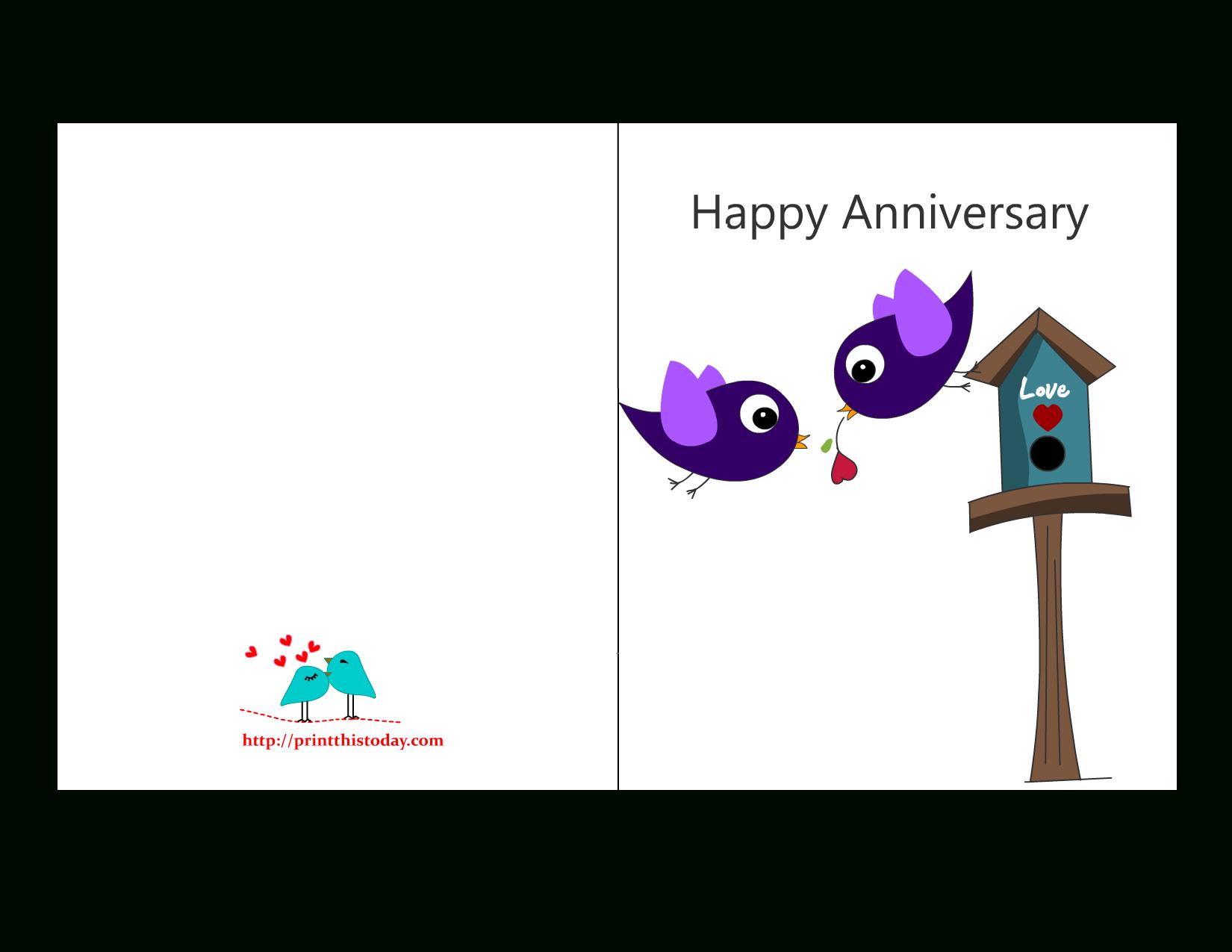 Free Anniversary Cards To Print | Free Printable Anniversary Cards - Free Printable 50Th Anniversary Cards