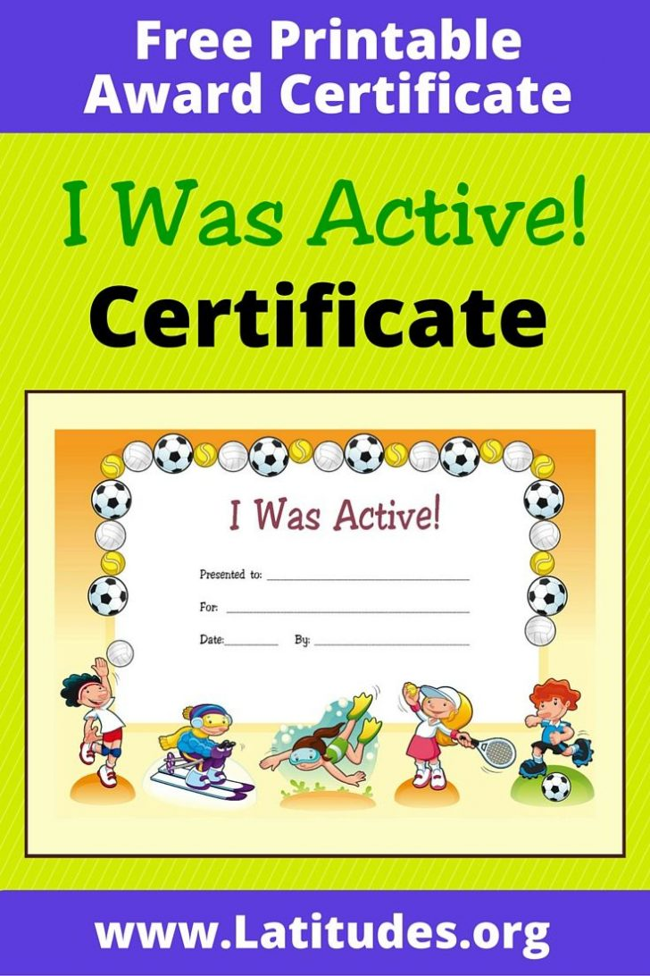 Good Behaviour Certificates Free Printable