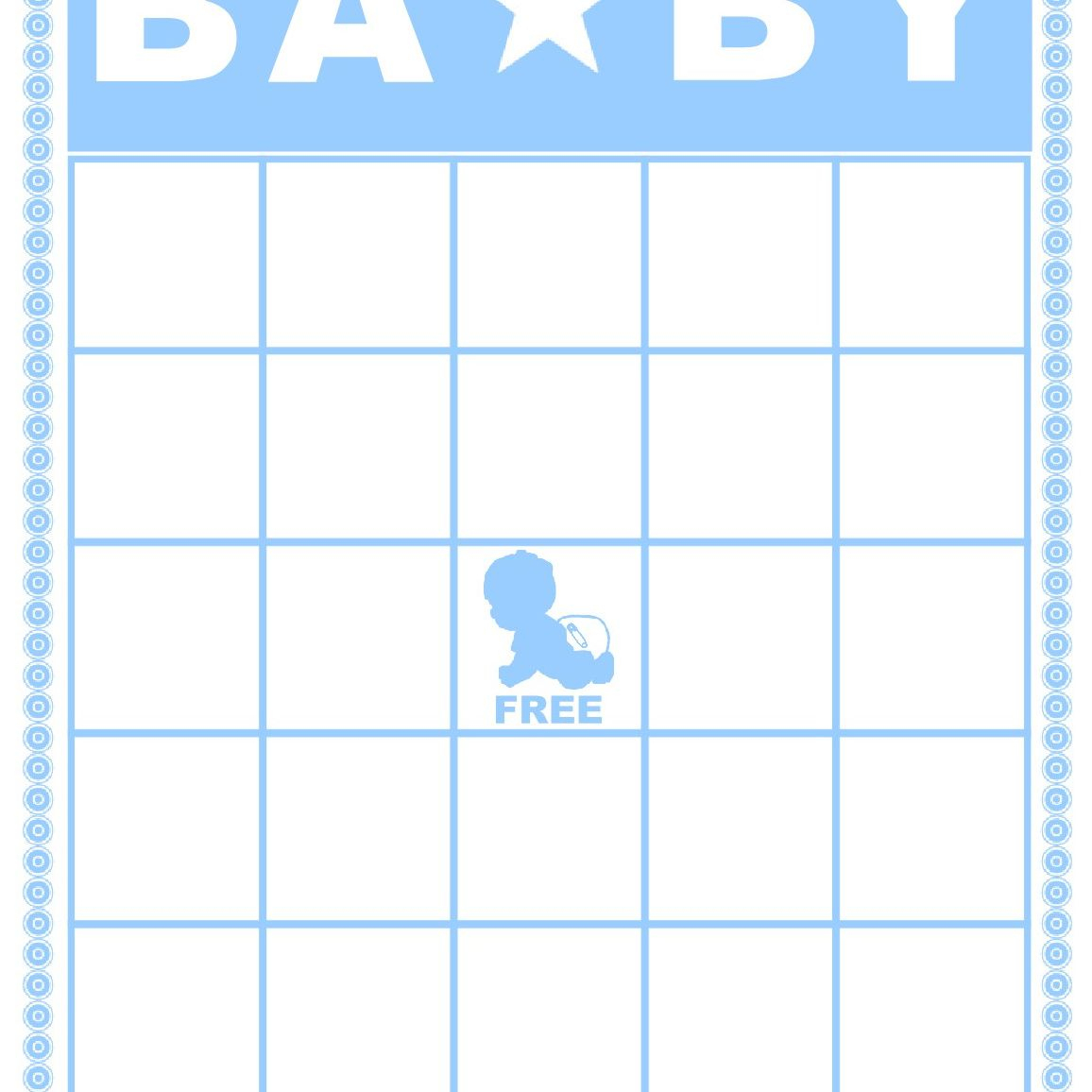 Free Baby Shower Bingo Cards Your Guests Will Love - Baby Bingo Free Printable Template