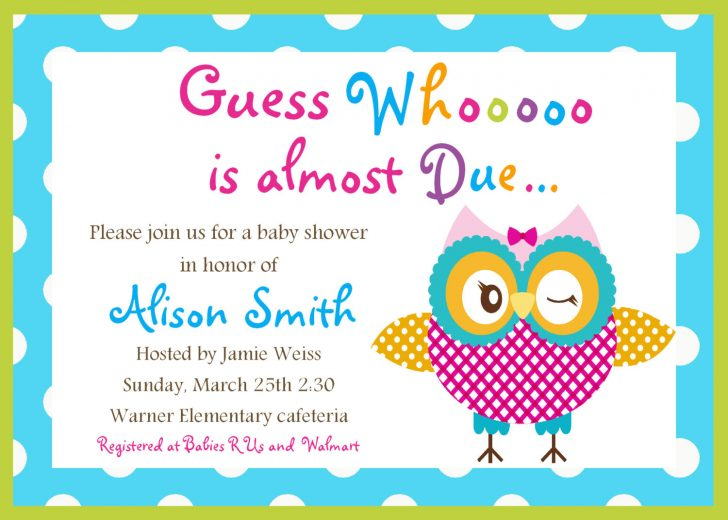 Free Printable Baby Registry Cards