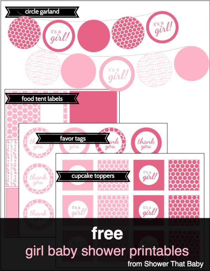 Baby Girl Banner Free Printable