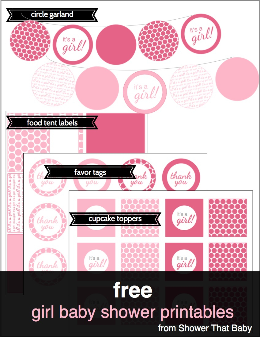 Free Baby Shower Printables | Shower That Baby - Ready To Pop Free Printable