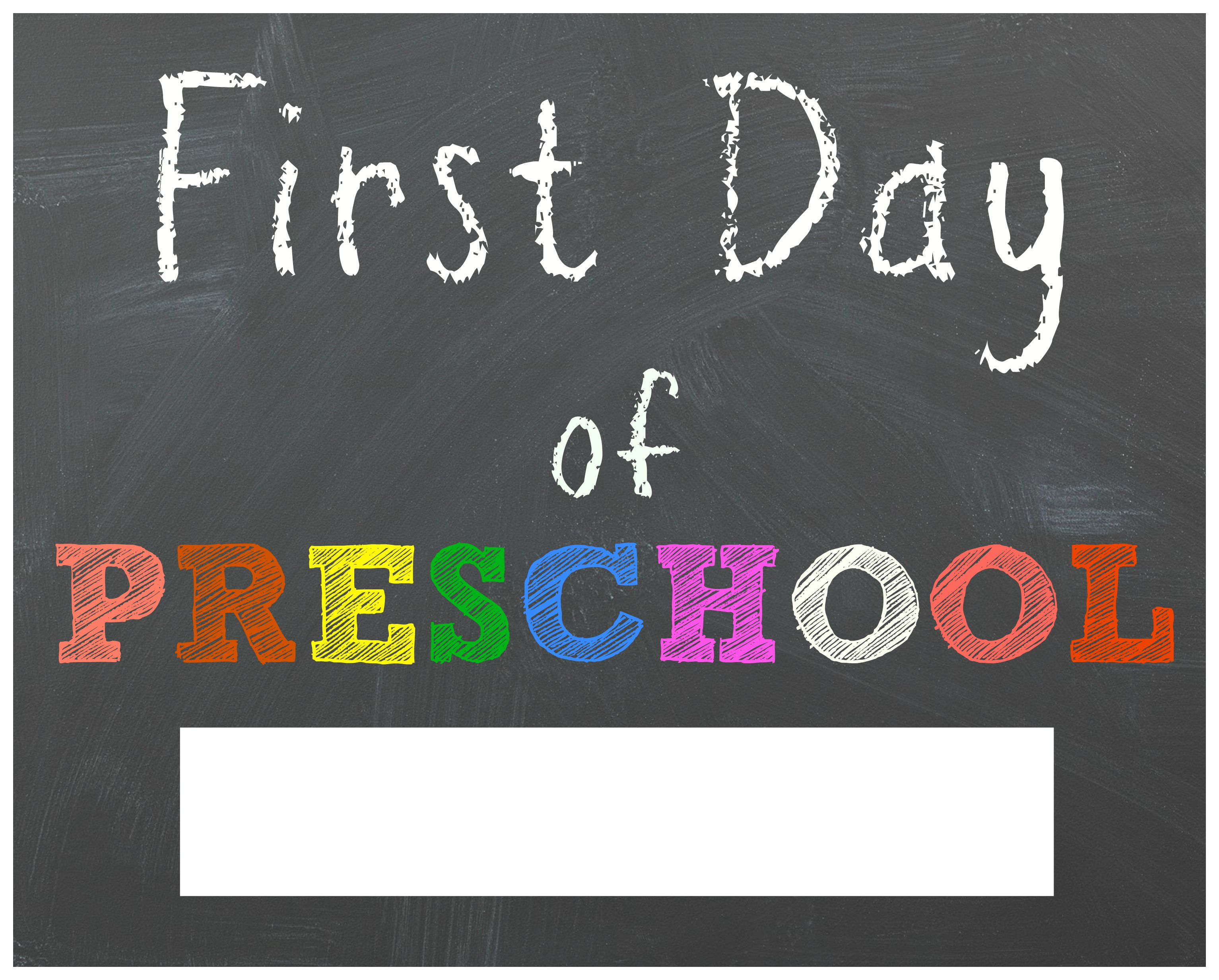 Free Back To School Printable Chalkboard Signs For First Day Of - First Day Of Fourth Grade Free Printable