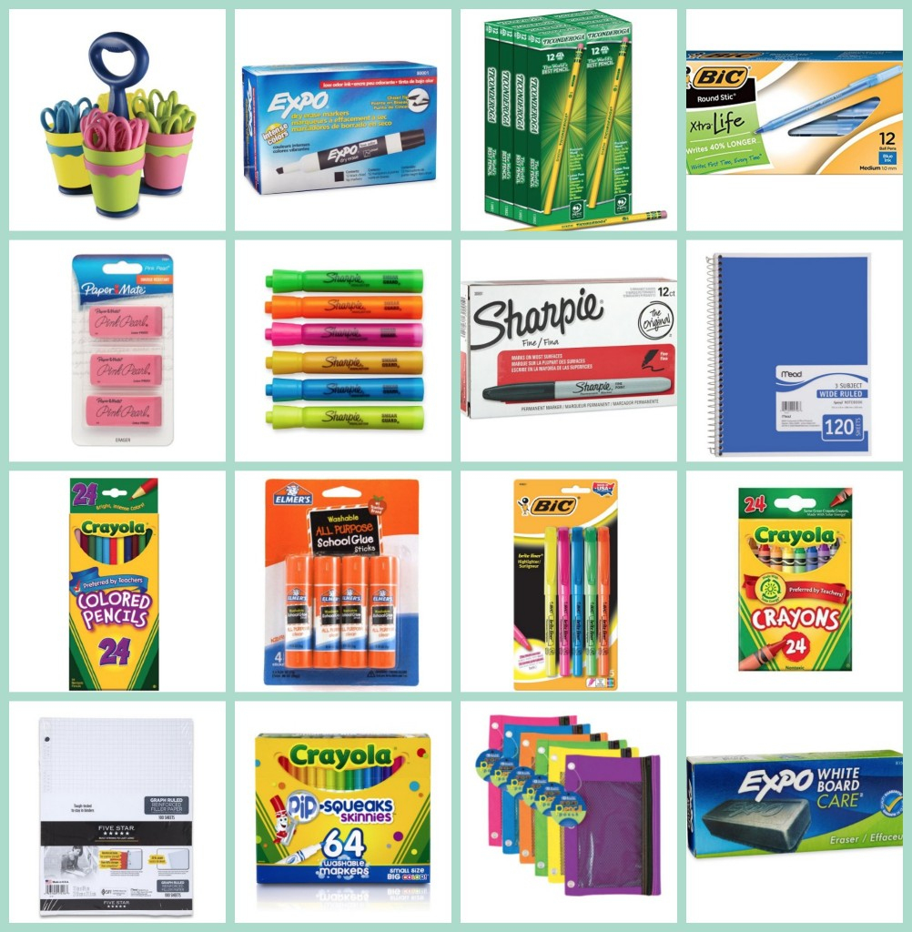 Free Back To School Walmart & Target Stock Up Price Cheat Sheet - Free Printable Coupons For School Supplies At Walmart