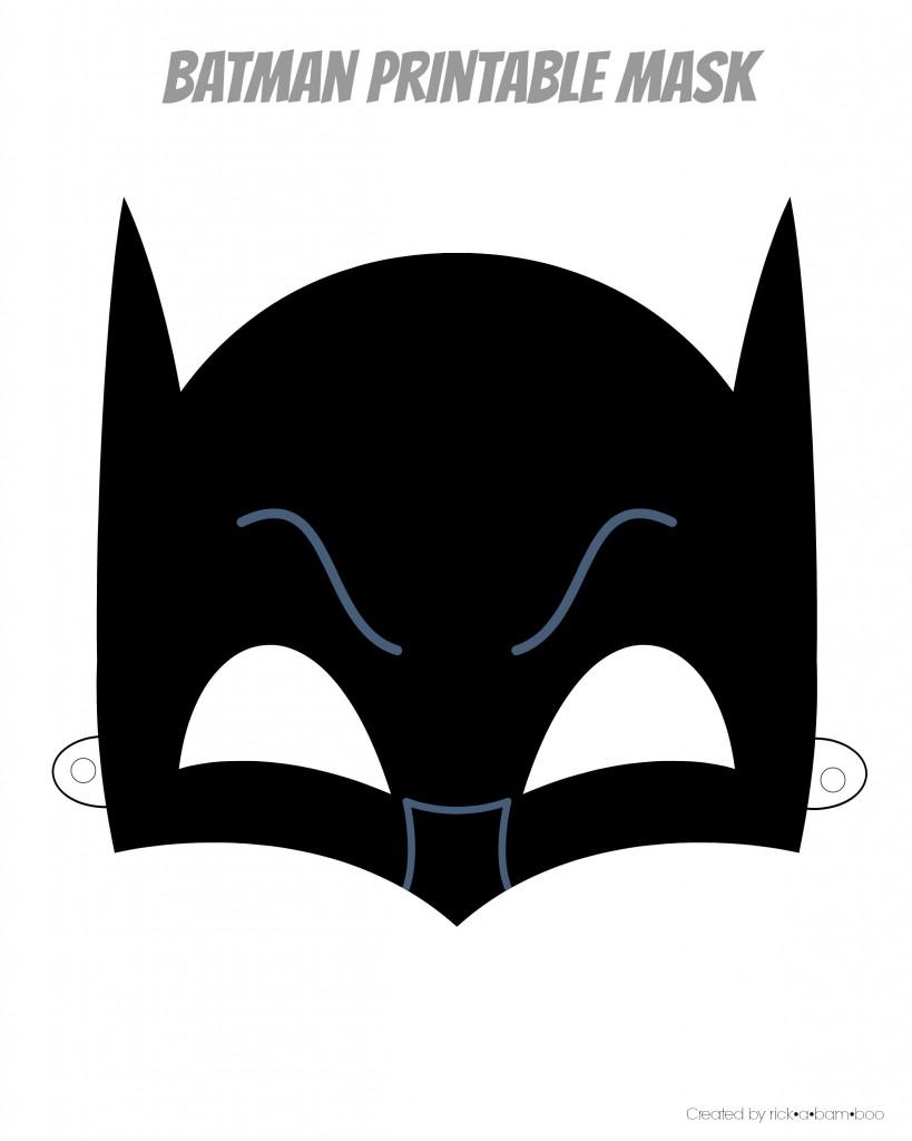 Free Batman Mask Template, Download Free Clip Art, Free Clip Art On - Free Printable Masks