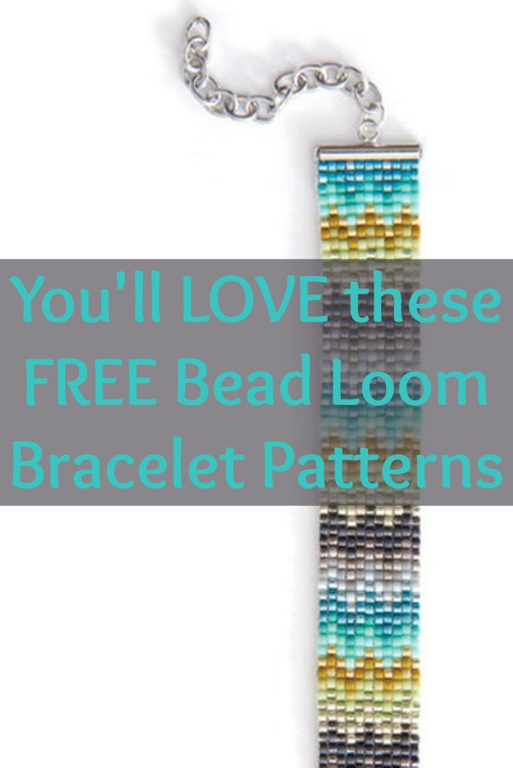 Free Beading Patterns You Have To Try | Beaded Bracelet Making - Free Printable Bead Loom Patterns